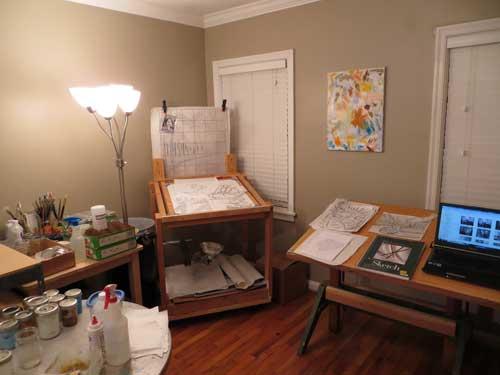 painting studio 25-0079