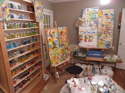 painting studio 65-0085
