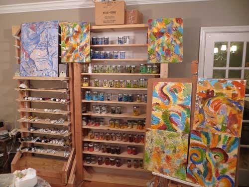 painting studio 68-0087