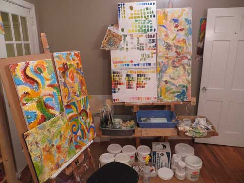 painting studio 70-0086