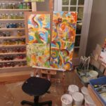 Studio for Acrylic Painting
