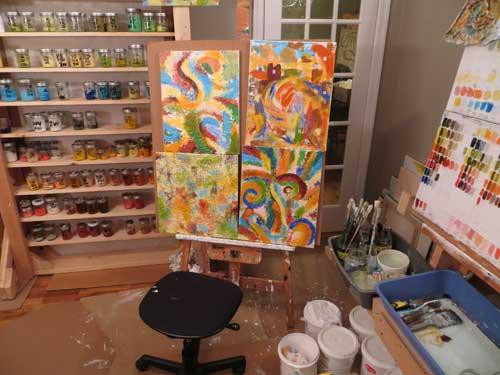 painting studio 75-0088