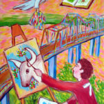 Painting the Greenville Bridge
