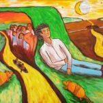 Armadillos at Whispering Mound