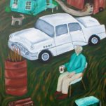 The White Car